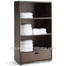 All Weather Rattan Outdoor Garden Cabinet