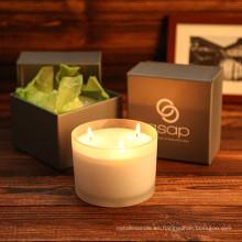 La última vela de lujo de la venta caliente más popular con diferentes aromas