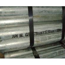 Hebei cangzhou comercio de carbono agua caliente galvanizado acero tubería acero tubería tubo de acero