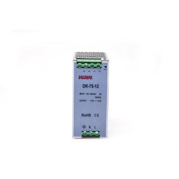 Fonte de alimentação do interruptor de 75W 24V 3A com proteção do curto-circuito
