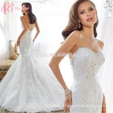 Vestidos de boda atractivos de los vestidos de boda de la sirena del apagado-hombro de la manera