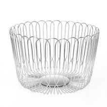 Stainless steel frui hollow out wire mesh basket