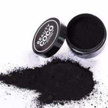 Coconut shell charcoal powder with bentonite powder for Teeth whitening