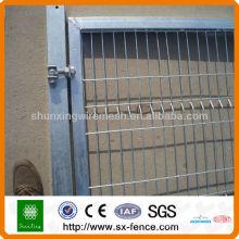 Projetos de porta revestida de PVC da porta, projeto da grade da porta