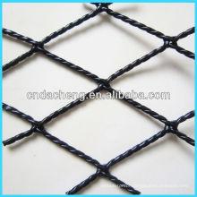 hi-tenacity fiber plastic-wrapped twisted fishing net
