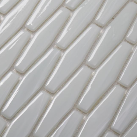 White glass mosaic tiles for sale