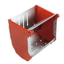 Removable Rabbit Hay Feed Feeder Animal Food Feeding Equipment rabbit Cage Feeding Food Containers Assemblable Rabbit Feeders