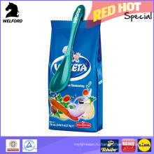 BSCI Audit Красочная пластиковая ложка с зажимом