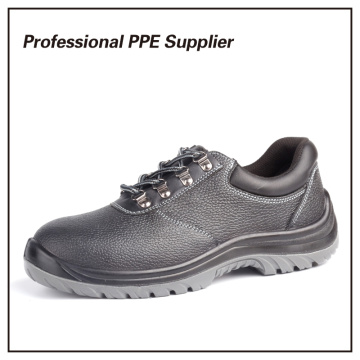 Low Cut Genuine Leather S1p Cheap Industrial Safety Shoes