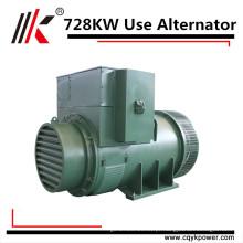 Alternadores do ímã permanente do preço do gerador do dínamo do RPM da velocidade 728kw 910kva baixa