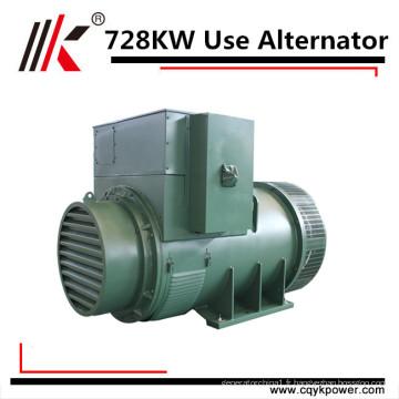 728kw 910kva faible vitesse rpm dynamo générateur prix permanent aimant alternateurs