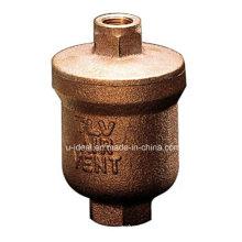 Válvula de Ventilação de Ar Automática; Válvula de Liberação de Ar Bronze