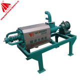 5.5 kw solid liquid separator/cow manure dewater machine for animal manure