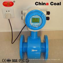 Débitmètre ultrasonique ultrasonique de turbine de mesure d'essence de liquides de Dn50