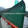 barreira de som de metal pvc revestido barreira à prova de som
