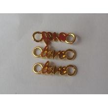 Diseños simples del colgante de los alfabetos del amor de la moda para los amantes