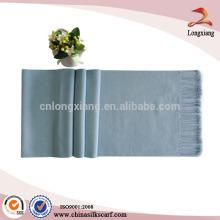 Moda popular elegante cor sólida liso pashmina lenço