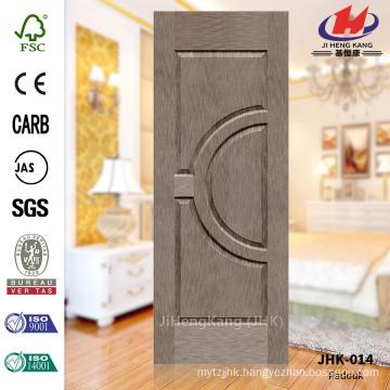 JHK-014 Natural Padouk Different Size School Manufacture Uncommon Wood Veneer Moulded Door Skin