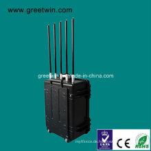 VHF / UHF Portable Military Jammer / Bombe Jammer (GW-VIP JAM5)