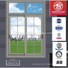 Perfil de alumínio anodizado prata champanhe bronze para janelas e portas para o mercado afegão africano