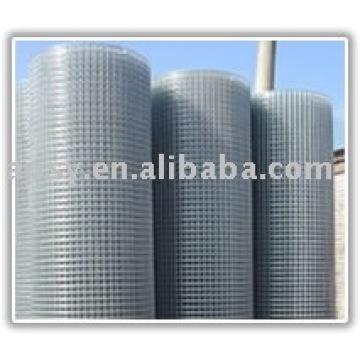 Treillis métallique soudé, panneau de treillis soudé par fil d'acier inoxydable, treillis soudé revêtu par PVC