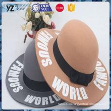 Sombreros de la venta superior del nuevo producto y sombreros de las mujeres para la promoción