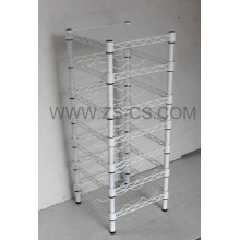 Weiße Malerei Home Use Free Standing Wine Rack (WR3025120A7E)