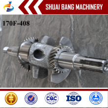 Eixo de manivela de alta qualidade turco do carro td42, eixo de manivela de aço do forjamento