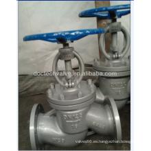 DIN válvula de globo acero carbono