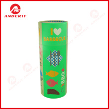 Renewable Design for for Gift Packaging Cardboard Tube Customized Paper Tube For Barbecue Tool Packaging export to Portugal Supplier
