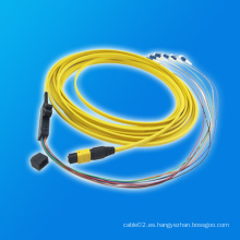 MTP-LC Cinta Fibra Óptica Patch Cord