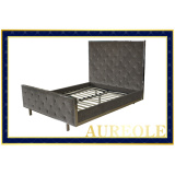 BD617 Alibaba China Supplier Super Single Bed