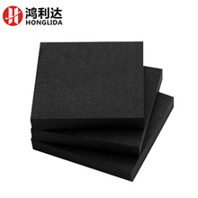 Black glassfiber anti static sheet with closed cell packing foma