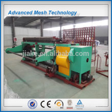 Straight reverse twisted hexagonal stainless steel netting machine