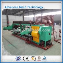 Máquina de compensação de aço inoxidável hexagonal de torção reversa reta