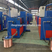 13DT RBD (1.2-4.0) wire drawing machine 450 Copper rod breakdown cable manufacturing with ennealer
