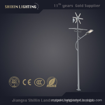 100W Solar LED Street Lights Pole