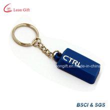 3D personalizado macia do PVC Keychain para presente da promoção