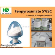 Produit de protection végétale / végétale Fenpyroximate 5% SC / 50g / LSC, CAS: 111812-58-9; 134098-61-6-lq