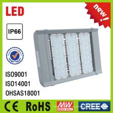 Nuevo diseño de alta potencia de aluminio al aire libre LED luz de calle