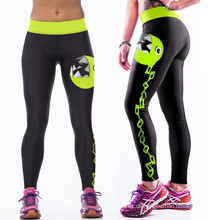 Neue Mode Multi-Color Frauen 3D Print Legging Hohe Taille Gym Yoga Laufen Sporthosen Gute Qualität Niedriger Preis