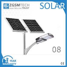Type de fente de réverbère solaire de 100W LED