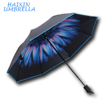 All Kinds of Flower Styles Top Selling Promotional Factory Cheap Custom Print Small Umbrella UV Protective Umbrellas Wholesale