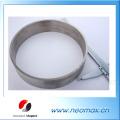 Кольцевой магнит SmCo для высоких температур до 550 градусов Применение диаметром 240 мм