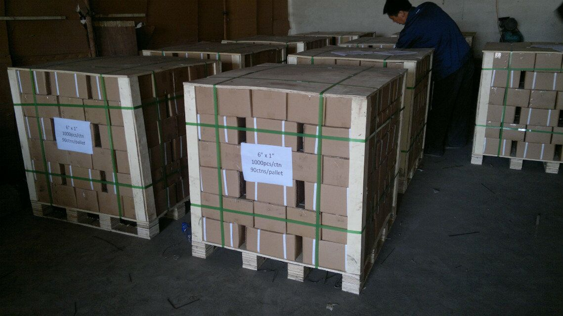 shipped by pallets