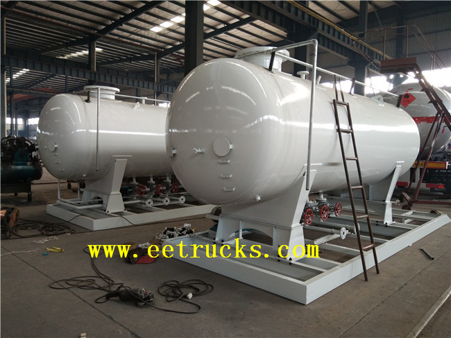 Skid Mounted LPG Filling Plants