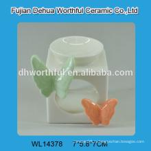 Оптовые масляные горелки, декоративные масляные горелки, керамическая масляная горелка с дизайном бабочки