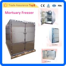 MSLMR06-i kundenspezifische Edelstahl-Chor-Gefriermaschine, Toaster-Kühlschrank, Leichenschau-Gefrierschrank mit Strom 220V 50Hz / 60Hz