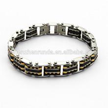 Bracelete da forma do membro de ouro, jóia do bracelete do aço inoxidável