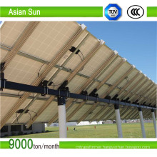 Soalr Roof and Mounting Power System Structure
